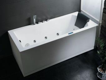 Форма чугунной ванны с гидромассажем