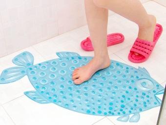 Детский коврик из резины для ванной