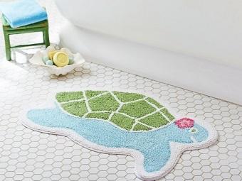 Хлопковые детские коврики в ванную