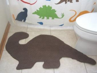 Детский хлопковый коврик в ванную комнату