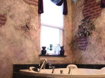 Фотообои для ванной комнаты - современные тенденции
