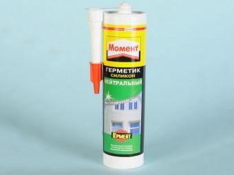 Нейтральный силиконовый герметик для ванной комнаты