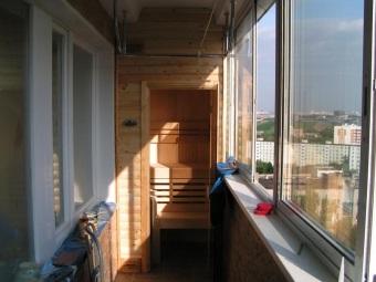 сауна своими руками в домашних условиях на балконе