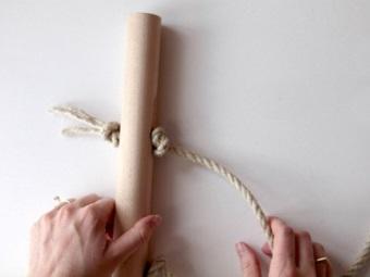 Потолочная сушилка для белья своими руками