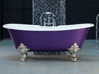 Декоративные опоры для ванны и их установка