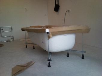 Советы по выбору каркаса для ванной