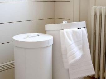 Стоимость корзин для белья для ванной