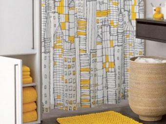 Стационарная корзина для белья для ванной комнаты