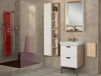 """Комплект мебели для ванной комнаты Акватон - """"ЙОРК с раковиной mini"""""""