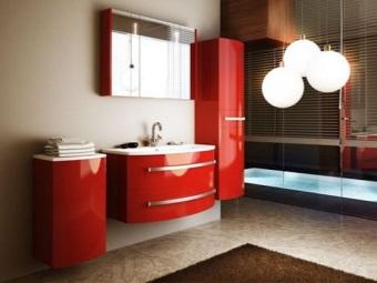 Достоинства мебели  от Леруа Мерлен для ванной комнаты