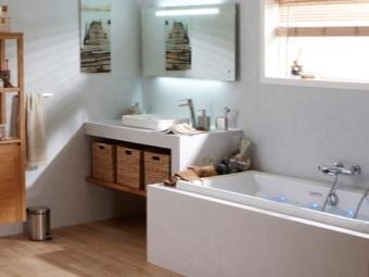 Преимущества мебели  от Леруа Мерлен для ванной комнаты