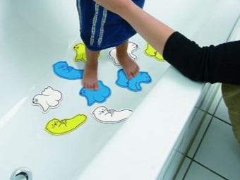 Размеры мини-ковриков для ванной