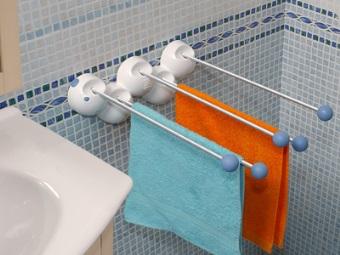 Оригинальная настенная сушилка для белья в ванной на батарею
