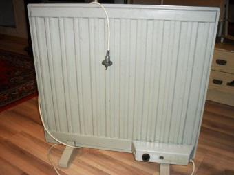 Масляный радиатор для ванной