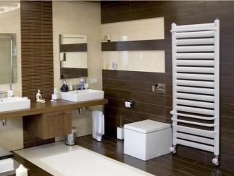 Необходимая мощность обогревателя в соответствии с площадью ванной комнаты
