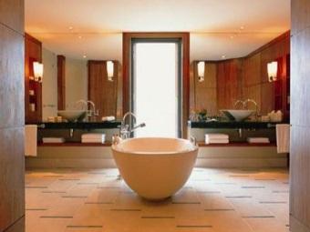 Достоинства отдельностоящей ванны