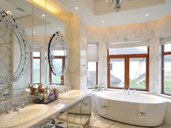 Преимущества отдельностоящей ванны