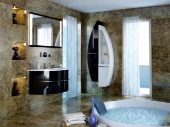 Мебель для ванной от De Aqua