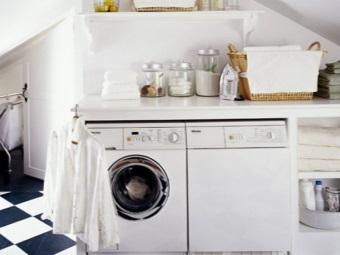 Требования к столешнице расположенной над стиральной машинкой в ванной