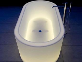 Ванна с подсветкой - хроматерапией