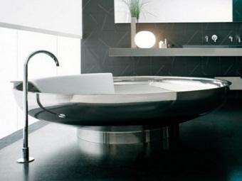 Круглая ванна и её форма