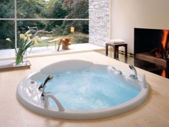 Форма круглой ванны