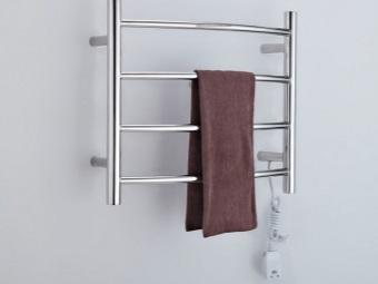 Обогрев ванной комнаты при помощи электрического полотенцесушителя