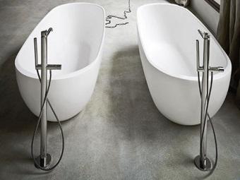 Форма чаши овальной ванны