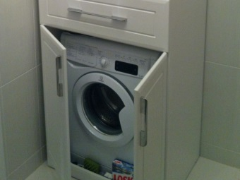Предназначение шкафа для стиральной машины