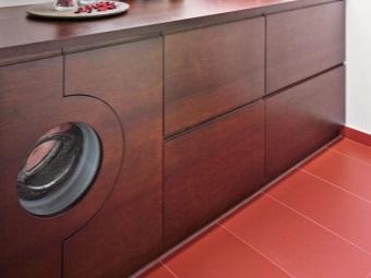 Шкаф для встроенной стиральной машины