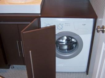 Шкаф из МДФ для стиральной машины