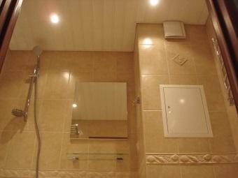 Облицовка короба в ванной комнате сделанного своими руками