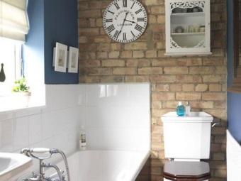 Декор и аксессуары в ванной в стиле лофт