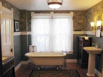 Ретро стиль для ванной и его особенности