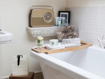 Аксессуары для ванной в ретро стиле