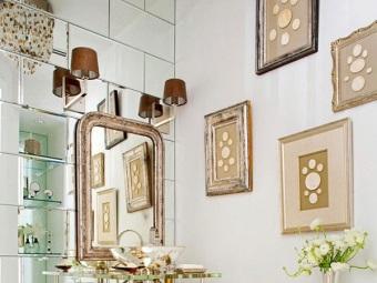 Советы по созданию интерьера в ванной комнате в стиле арт-деко