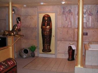 Египетская ванная комната