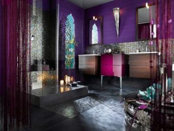 Достоинства восточного стиля в ванной