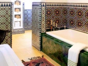 Арабский стиль в ванной комнате