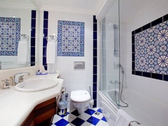 Турецкая ванная комната - восточный стиль для ванной