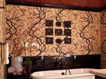 Особенности восточного стиля в ванной комнате