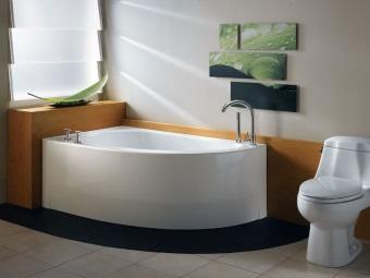 Вес акриловой ванны - на что он влияет?