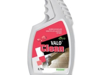 Valo Clean для размягчения старой затирки между кафельной плиткой