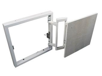 Ревизионный сантехнический люк невидимка под плитку