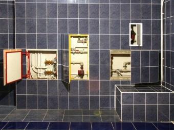 Сантехнический люк-невидимка под плитку