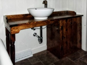 Тумба под умывальник своими руками в ванной