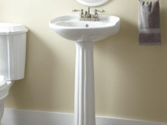 Умывальник-тюльпан для ванной комнаты