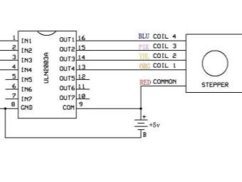 Схема подключения бесколлекторного(шагового) двигателя стиральной машины