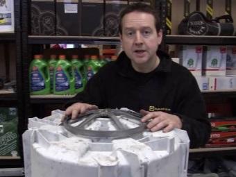Снятие барабана на стиральной машине с фронтальной загрузкой