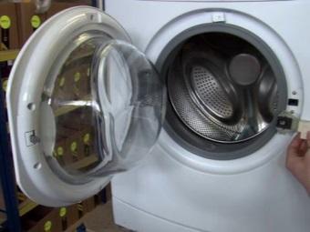 Не блокируется дверь в стиральной машине - замена замка
